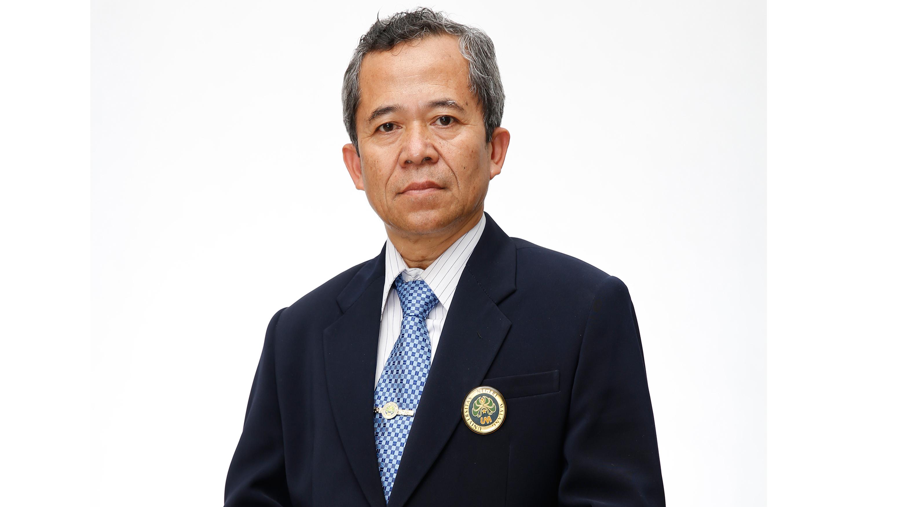 Ketua Lembaga Pengembangan Pendidikan dan Pembelajaran (LP3) Universitas Negeri Malang (UM) Dr. H. Sulton, M.Pd
