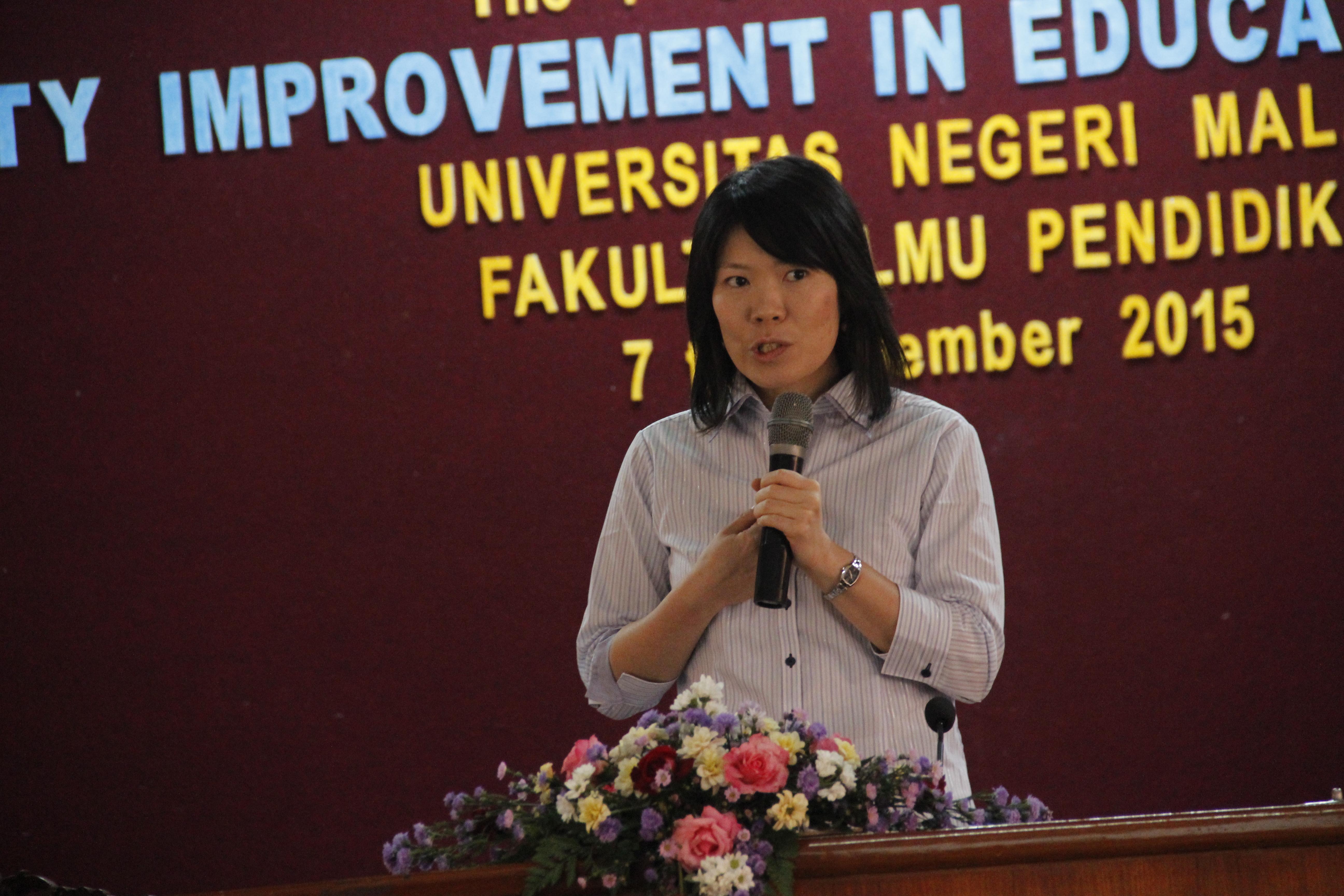 Dr. Maiko Kishi, dari Jepang bekerja di Meiji University