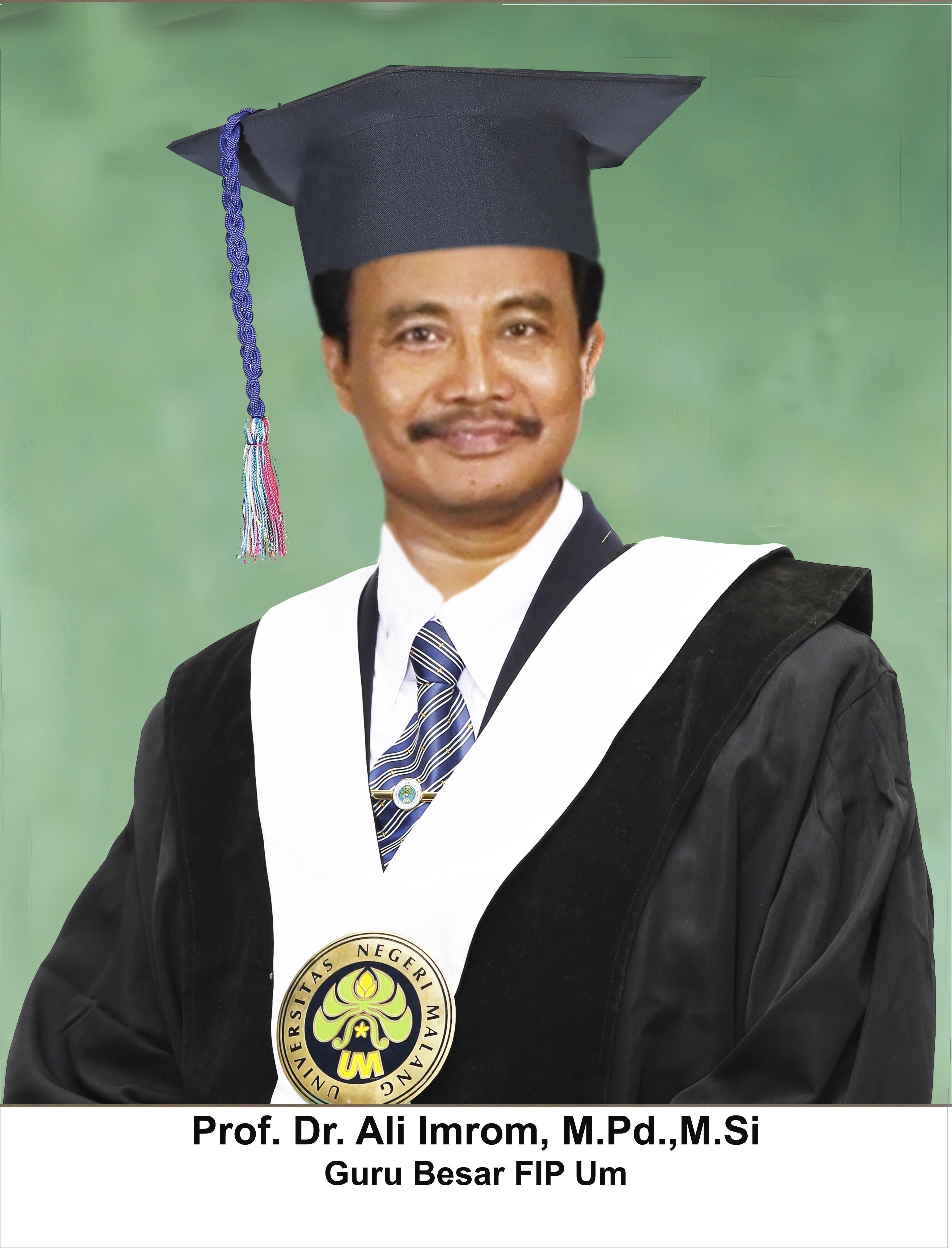 Prof. Dr. Ali Imron, MPd