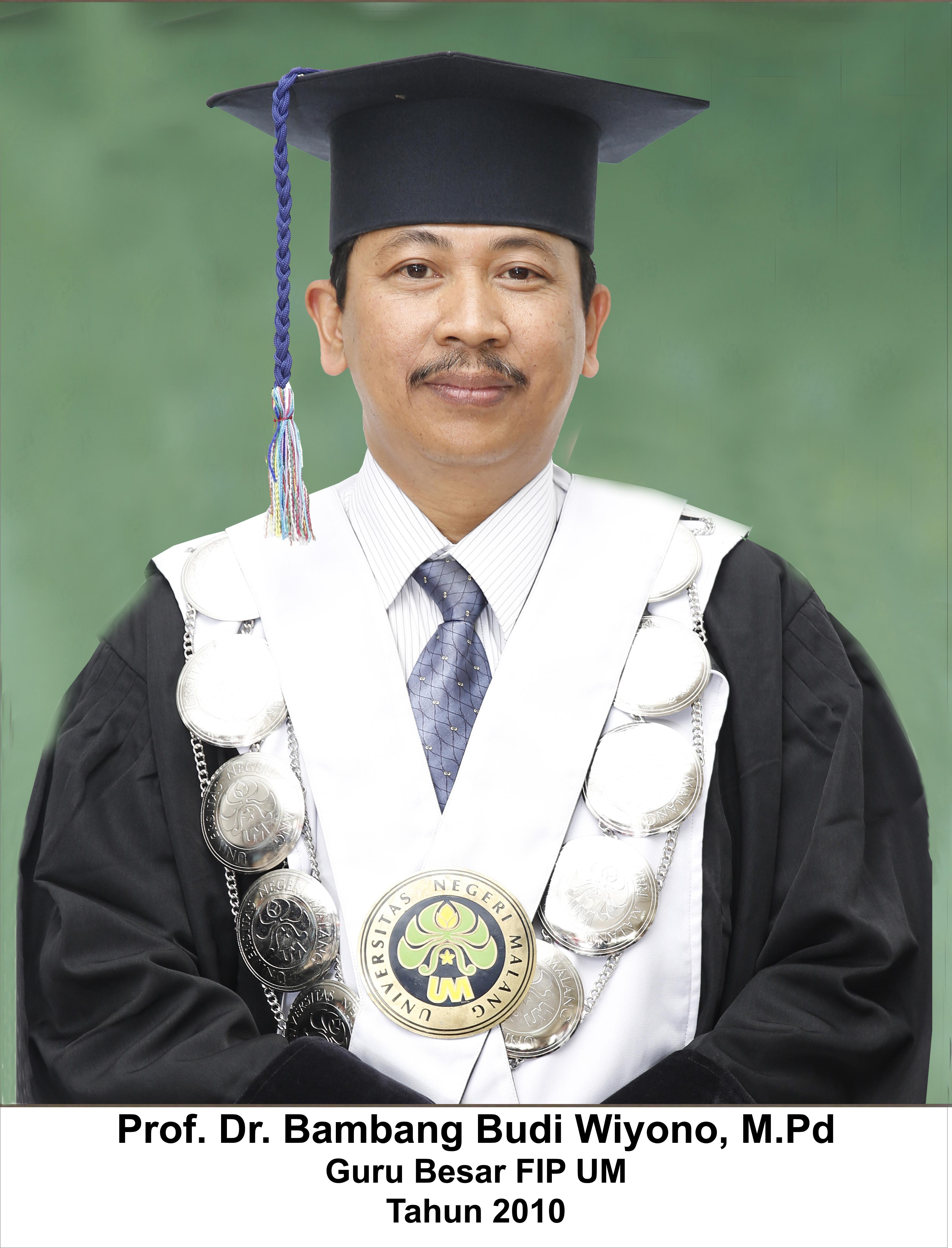 Prof. Dr. Bambang Budi Wiyono, MPd