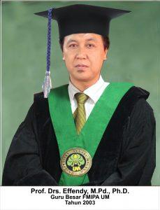 Prof. Drs. Effendy, M.Pd., Ph.DProf. Drs. Effendy, M.Pd., Ph.D