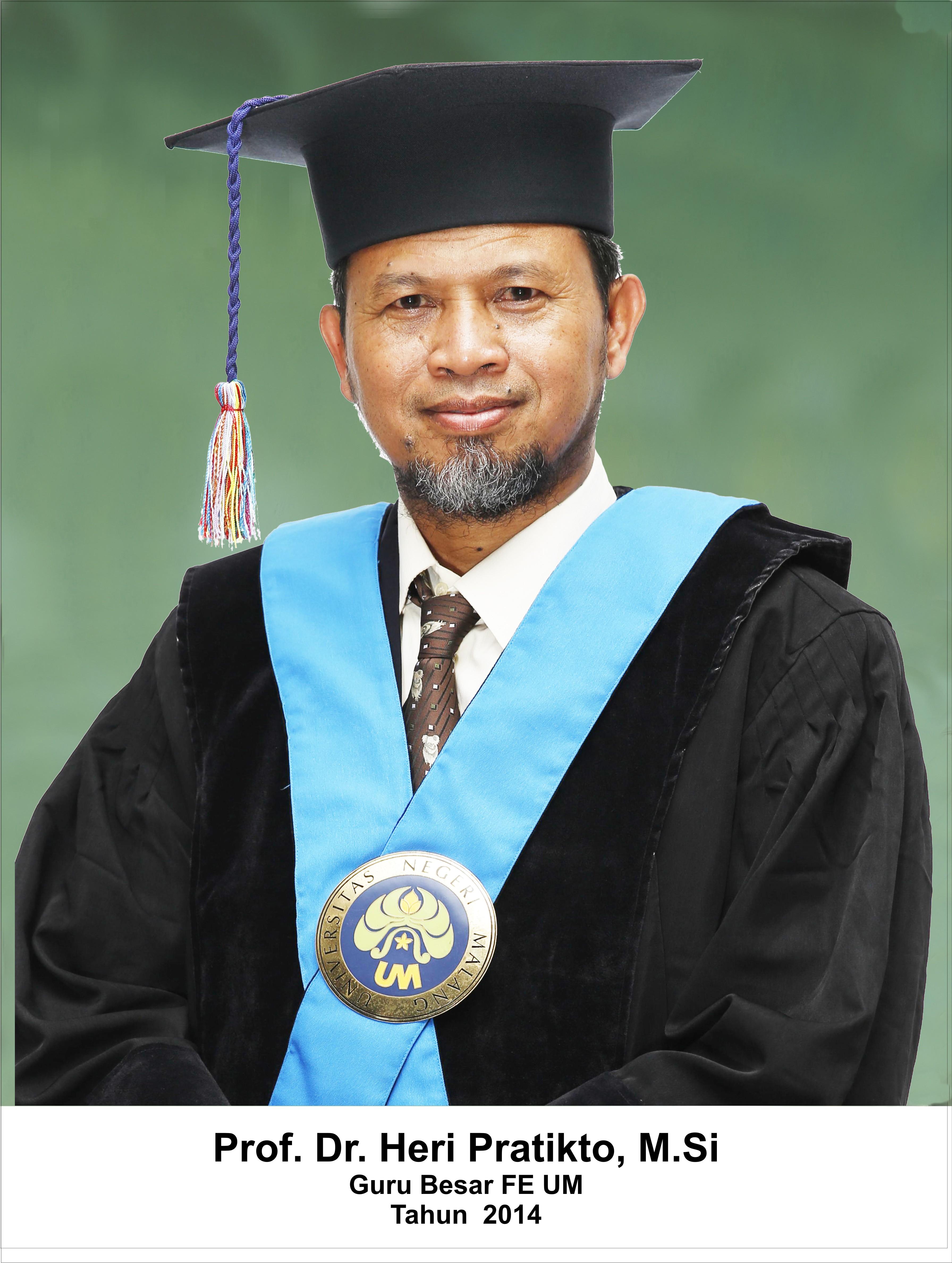 Prof. Dr. Heri Pratikto, M.Pd