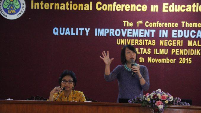 Pembicara utama: Dr. Jennifer Pei-Ling Tan