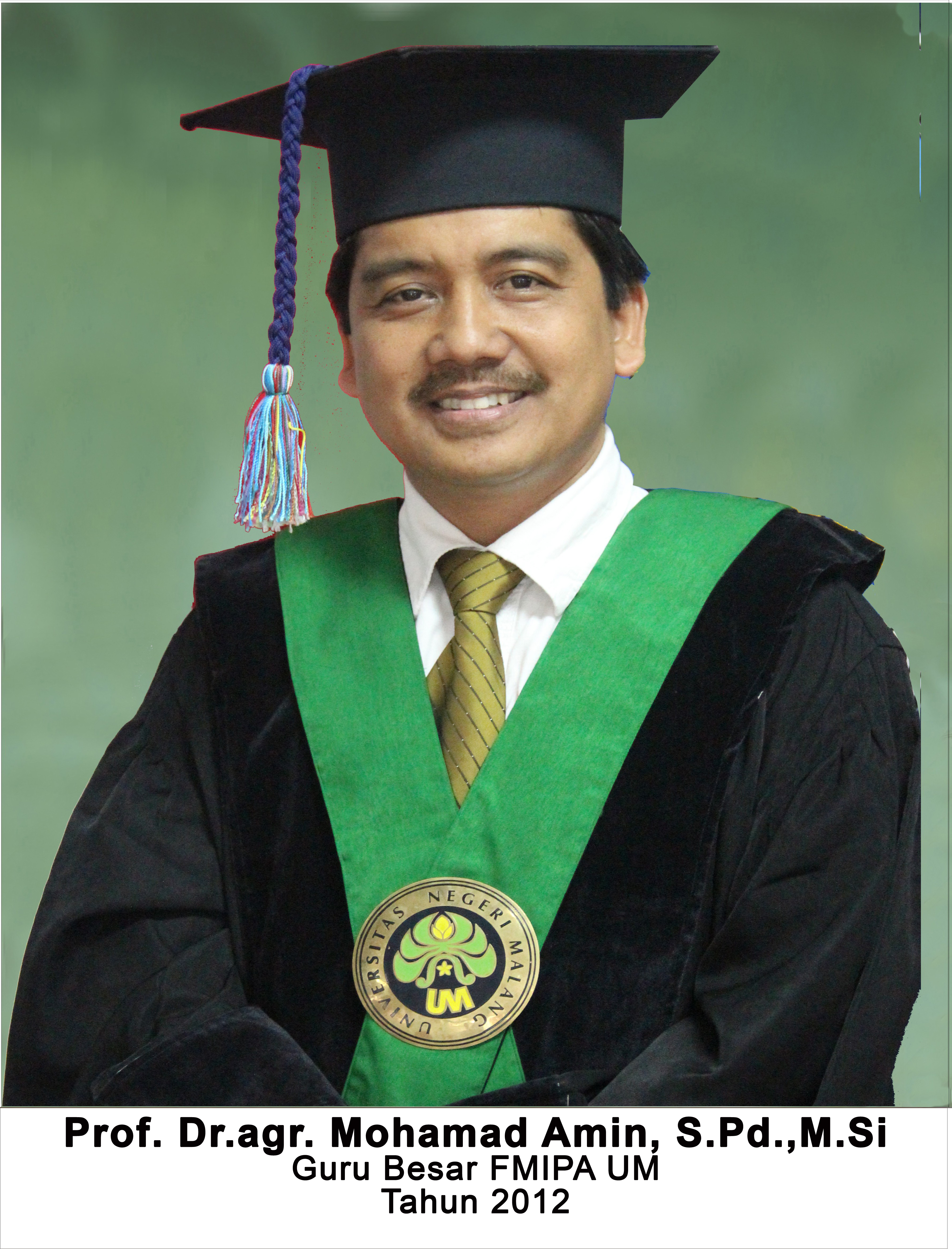Prof. Dr. agr. Mohamad Amin, S.Pd. M.Si