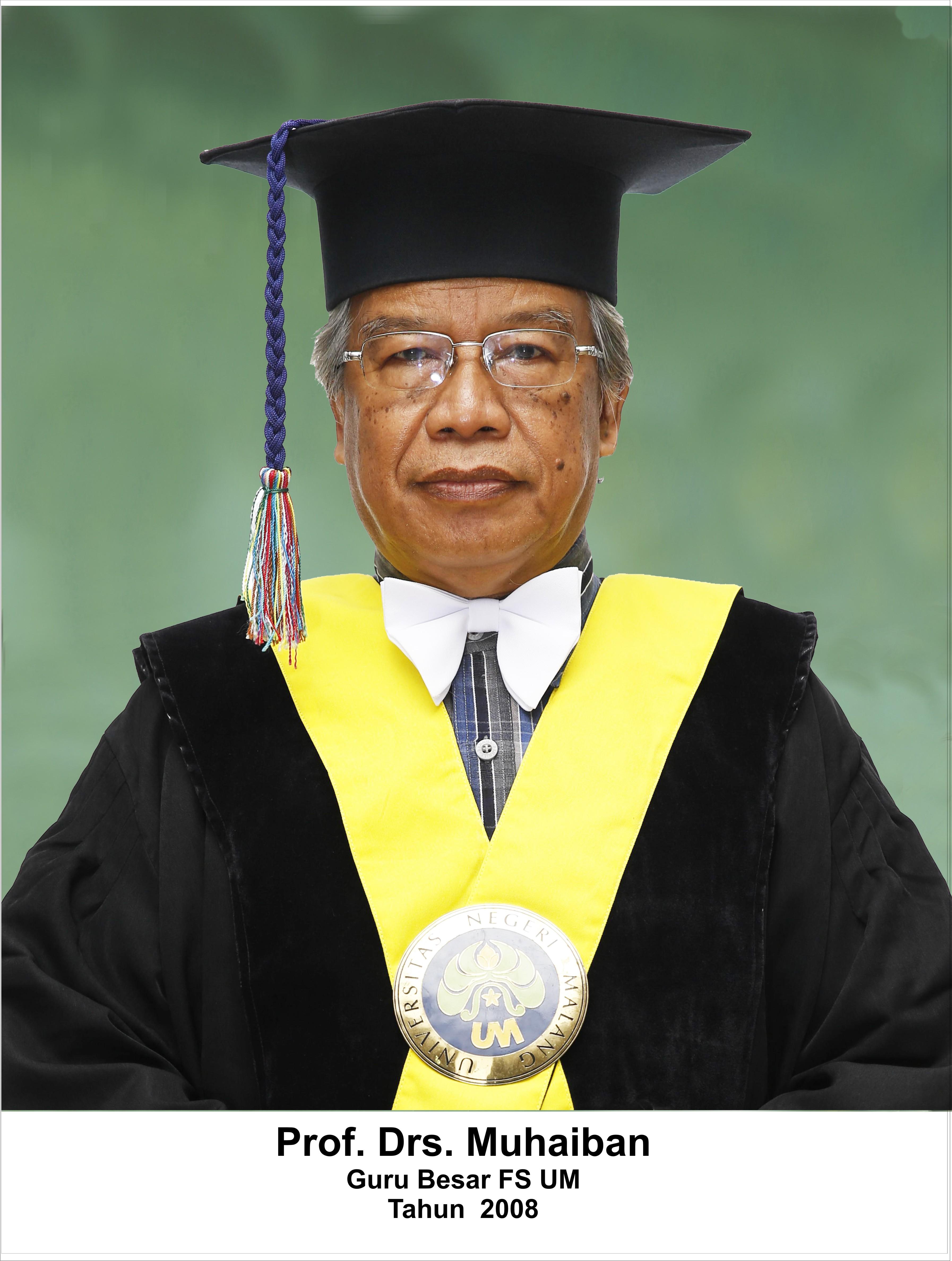 Prof. Drs. Muhaiban