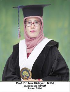Prof. Dr. Nur Hidayah, MPd.