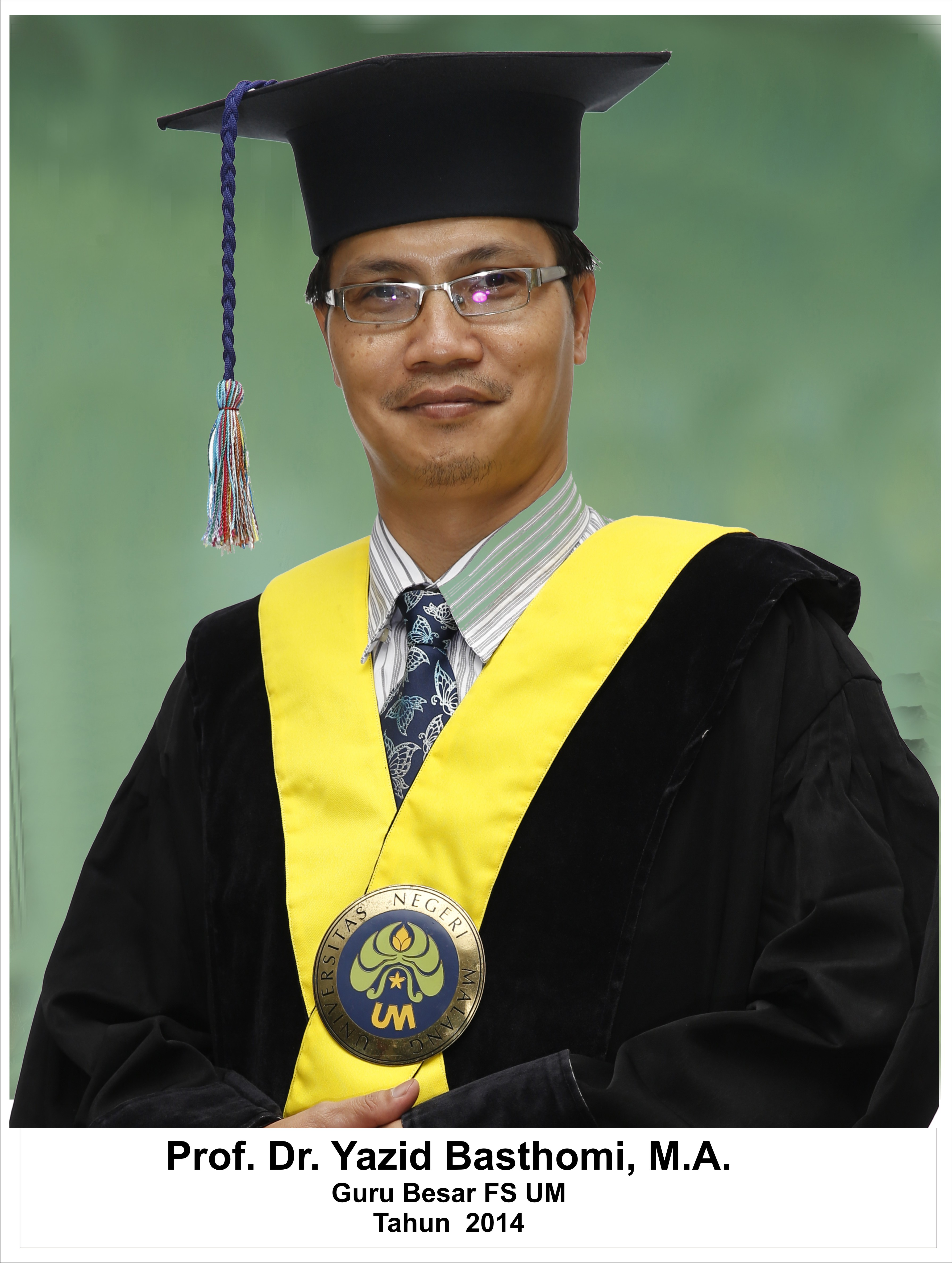 Prof. Dr. Yazid Busthomi, S.Pd., M.A
