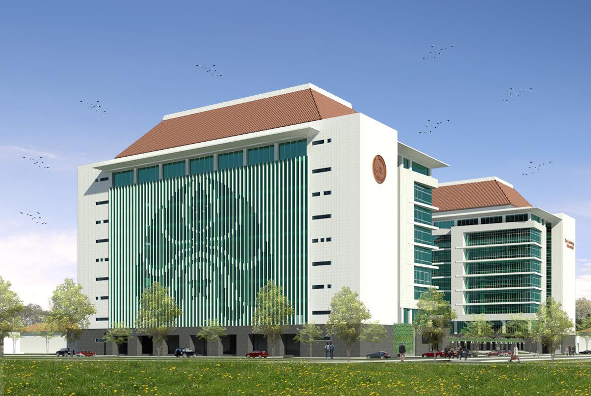 Gedung Kuliah Bersama yang akan dibangun melalui mega proyek IDB