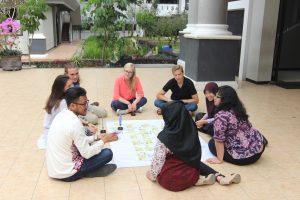 Pembelajaran Outdoor yang dilakukan oleh Mahasiswa CLS UM